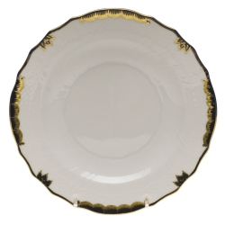 Princess Victoria Black Salad Plate