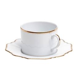 Simply Anna Antique Tea Cup Saucer