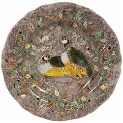 Rambouillet Partridge Dinner Plate