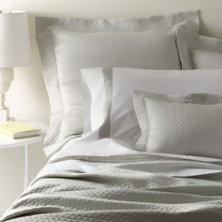 Pearl Silver King Coverlet