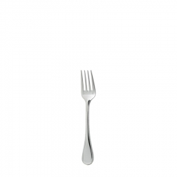 Perles Silver Plated Salad Fork