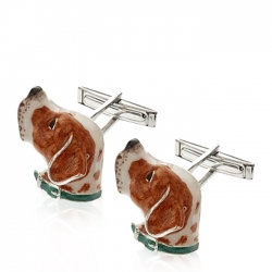 Enamel Pointer Cufflinks
