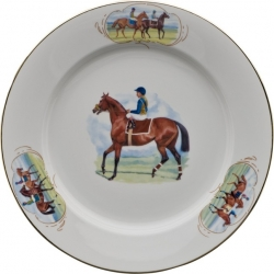 Post Parade Charger/Buffet Plate