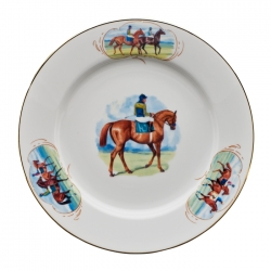 Post Parade Dinner Plate