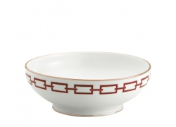 Catene Red Salad Bowl