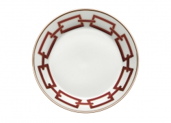 Catene Red Tea Saucer