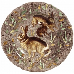 Rambouillet Rabbit Dinner Plate