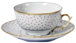 Simply Anna Polka Gold Tea Cup