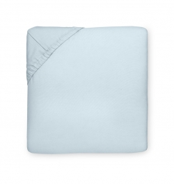 Celeste Blue Queen Fitted Sheet
