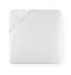 Fiona White Queen Fitted Sheet