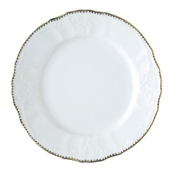 Simply Anna Gold Salad Plate
