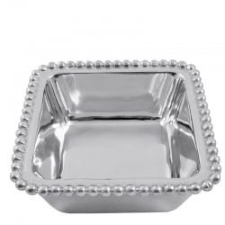 Beaded Square Condiment Bowl