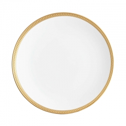 Soie Tress�e Gold Dinner Plate