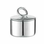 Vertigo Silver Plated Sugar Bowl
