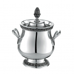 Malmaison Silver Plated Sugar Bowl with Lid