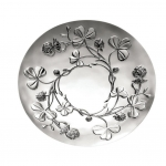 Trefle Silver-Plated Clover Vines Decorative Bowl-R