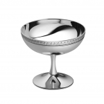 Malmaison Silver Plated Ice Cream Bowl