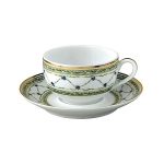 Allee Royale Tea Cup Accented in 24K gold