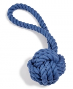 Small Tug & Toss Rope Toy - Blue