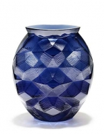 Tortue Vase, Midnight Blue
