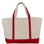 Large Boat Tote, Red