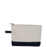 Navy Make-Up Bag