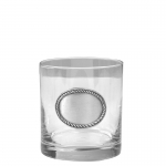 Rope Edge Old Fashioned Glass Set of 4
