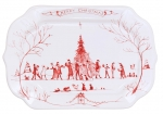 Winter Frolic Gift Tray with \Merry Christmas\