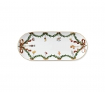 Star Fluted Christmas Oblong Dish/Tray
