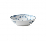 Blue Fluted Half Lace Bowl