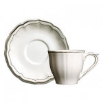 Filet Taupe Tea Cup