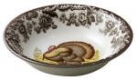 Woodland Turkey Ascot Cereal Bowl