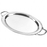 Classic Pewter Oval Serving Tray