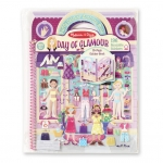 Day of Glamour Puffy Sticker Album