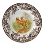 Woodland Golden Retriever Salad Plate