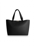 Piper Soft Tote Bag in Black
