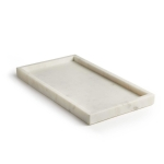 White Marble Tray, Large