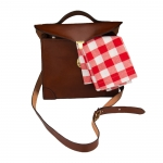 Leather Lunchbox with Strap
