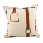 Side-By-Side Stirrup & Strap Pillow