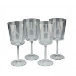 Stirrup Wine Glasses, Set of 4
