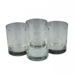 Stirrup Double Old-Fashioned Glasses, Set of 4