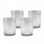 Stirrup & Strap Double Old Fashioneds, Set of 4