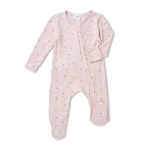 Pink Sheep Ruffled Footie Sleeper, 3-6 Months