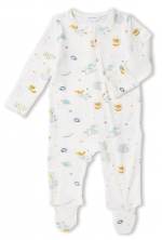 Space Explorer Footie Sleeper, 3-6 Months
