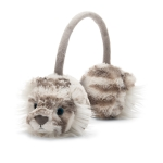 Sacha Snow Tiger Ear Muffs