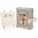 Karen Adams 2020 Calendar with Silver Easel