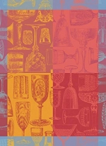 Glasses & Colors Kitchen Towel