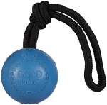 \Good Dog\ Rubber Ball Toy - Blue