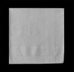 White Fine Cotton Men\'s Handkerchief