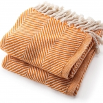 Monhegan Autumn Throw